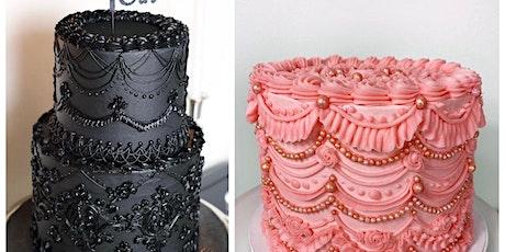 Cake Decorating Class: 2-Tier Lambeth Cake Decorating Workshop tickets