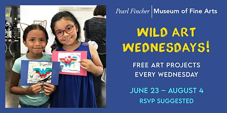 Wild Art Wednesday tickets