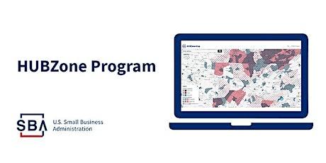 8(a) Business Development Programand HUBZone Contracting Program tickets
