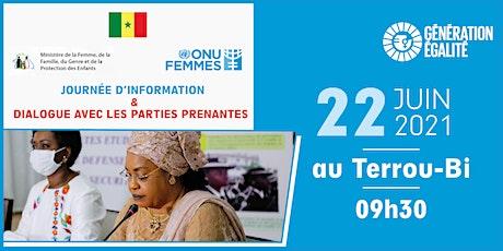 Journée d'Information et de Dialogue avec les Parties Prenantes billets