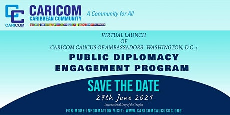 Virtual Launch of Public Diplomacy Engagement Program tickets