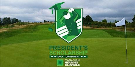 President's Scholarship Golf Tournament on Sept. 30 - Platinum Partnership tickets