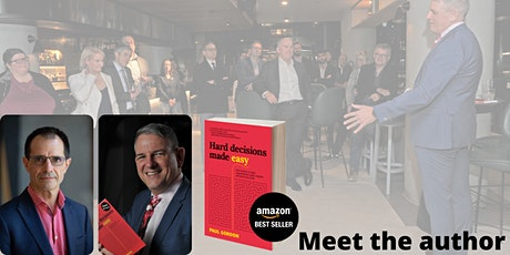 Hard Decisions Made Easy - meet the author in Wellington tickets
