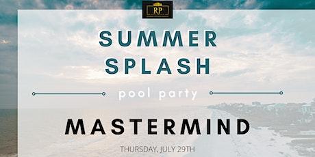 Summer Splash Pool Party - Online Mastermind tickets