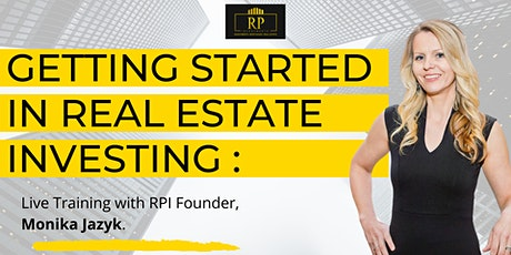 Getting Started in Real Estate Investing - LIVE Q&A  Session tickets