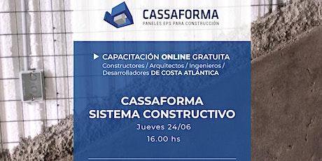 Capacitación - Sistema Constructivo Cassaforma boletos