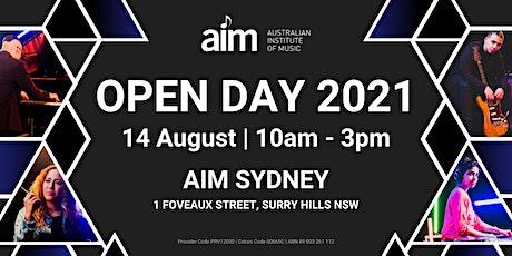 AIM Open Day | Sydney Campus | 14 August tickets