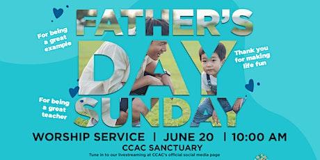 CCAC Worship Service | June 20 | 10 AM tickets