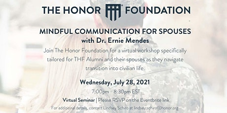 Mindful Communication for Spouses tickets