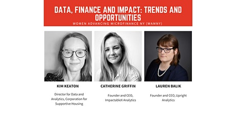 Data, Finance and Impact: Trends and Opportunities tickets