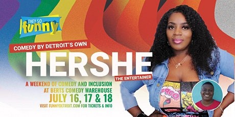 HERSHE the Entertainer   Sat, July 17th @ 9:30p tickets