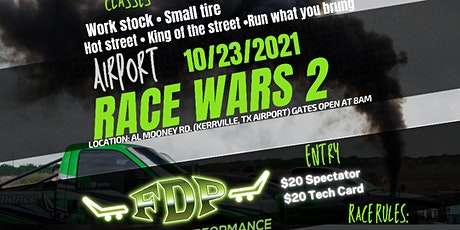 Airport Race Wars 2 tickets