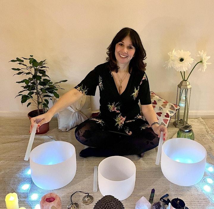 90 Minutes Crystal Bowl Sound Bath Healing & Guided Meditation image