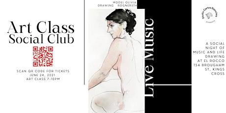 Art Class, Music & Social Club at El Rocco tickets