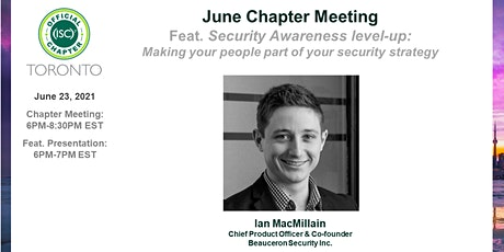 (ISC)2 Toronto Chapter: June 2021 Chapter Meeting tickets
