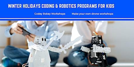 School Holidays Robotics & Coding workshops tickets