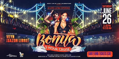 BONITA MIDNIGHT CRUISE FEAT SAZON LIBRE tickets