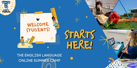 English Language Summer Camp for High School Students tickets