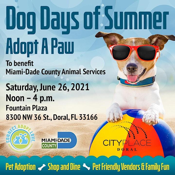 Dog Days of Summer Pet Adoption Event image