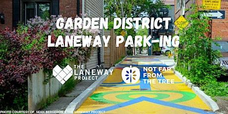 Laneway Park-ing Greening: Volunteer Opportunity tickets