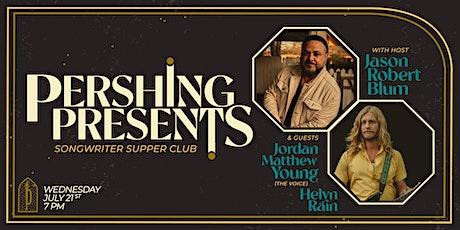 Pershing Presents | Jason Blum, Jordan Mathew Young & Helyn Rain tickets