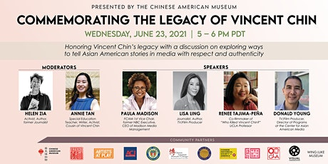 Commemorating the Legacy of Vincent Chin tickets