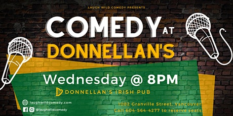 Comedy at Donnellan's tickets