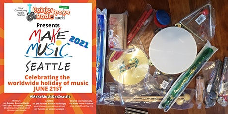 Make Music Day Seattle - FREE Kids Instruments & Play Session on Waterfront tickets