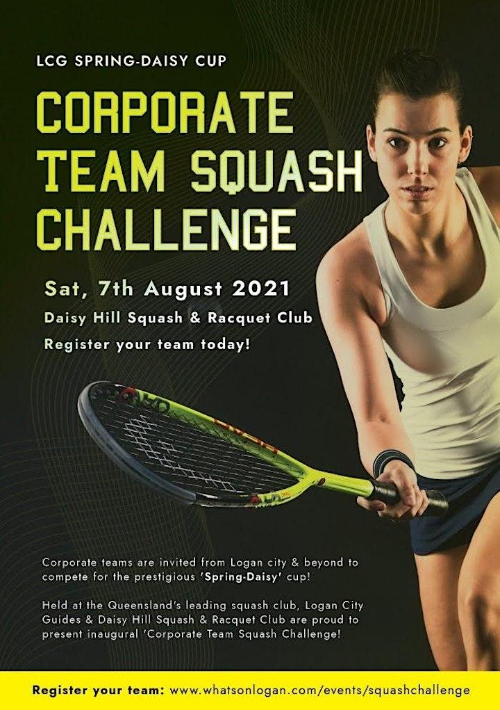 Logan City Corporate Squash Games image