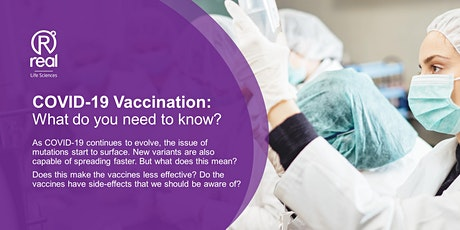 COVID-19 Vaccination: What do you need to know? tickets