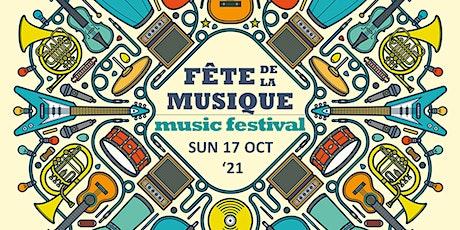 FÊTE DE  LA  MUSIQUE 2021 music festival tickets