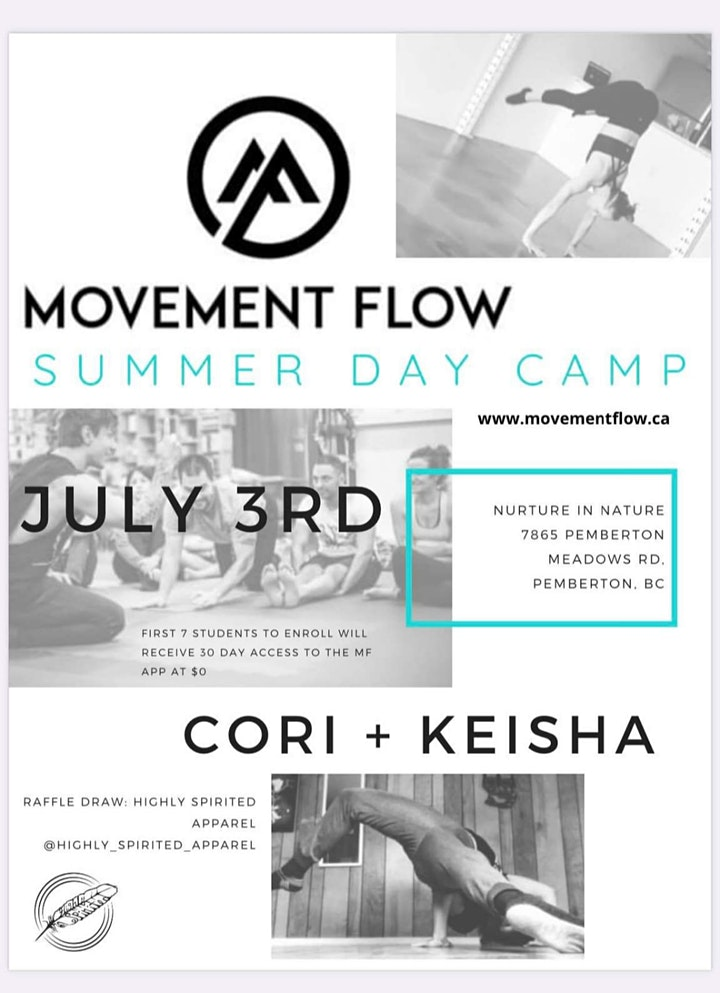 Movement Flow Summer Day Camp image