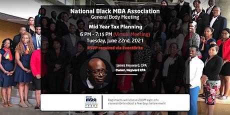 Mid-Year Tax Planning tickets