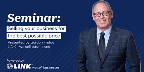 Selling your business for the best possible price - Hawkes Bay tickets