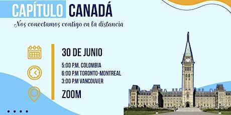 Encuentro virtual de Javerianos en CANADA entradas