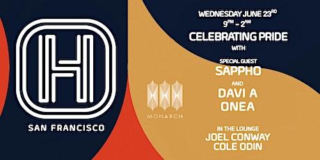 Pride Celebration w/ Sappho, Davi A, One A, Cole Odin & Joel Conway tickets