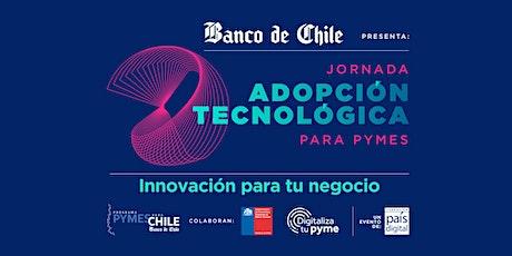 Jornadas Adopción Tecnológica para Pymes : Innovación para tu negocio. entradas