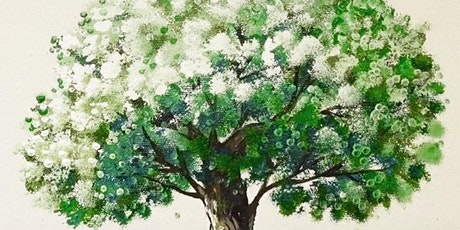 Green Tree Virtual Landscape Painting, All ages are welcome tickets