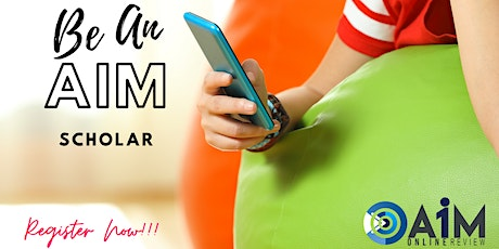 AiM Online Review Special Scholarship Program tickets