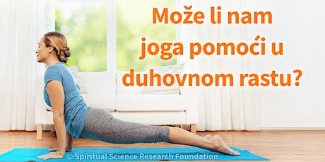 Može li nam joga pomoći u duhovnom rastu? tickets
