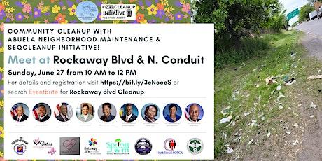 Rockaway Blvd Cleanup tickets