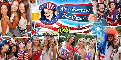 The All American (July 4th) Bar Crawl tickets
