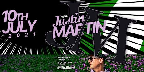 Justin Martin at It'll Do Club tickets
