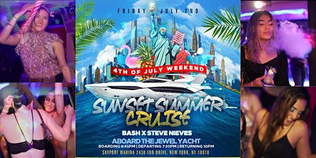 Pre-4th of July NYC Cruise Party tickets