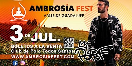 AMBROSÍA FEST tickets