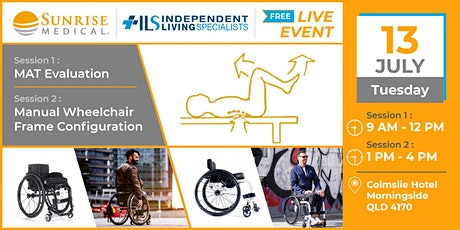 MAT Evaluation & Manual Wheelchair Frame Configuration | Sunrise Medical tickets