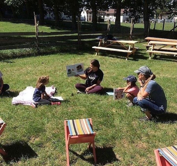 Reading with the Residents image