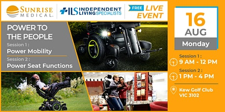 Power to the People: Power Mobility & Power Seat Functions tickets