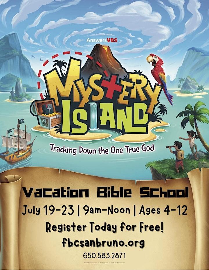 Free Summer Program Vacation Bible School image