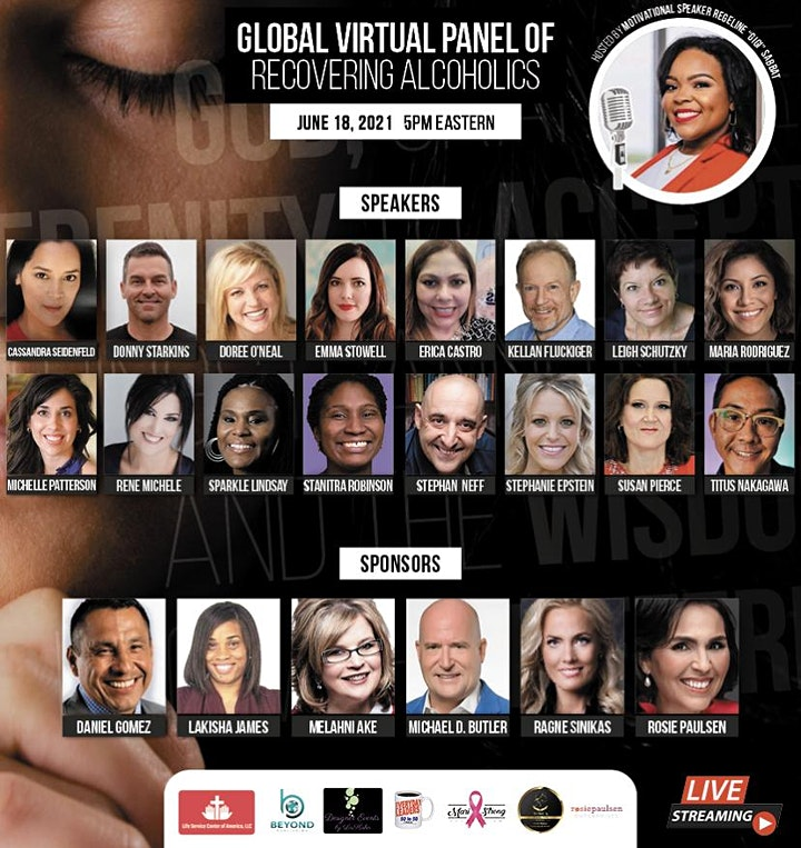 The Global Virtual Panel of Recovering Alcoholics Event image